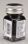 Testors Black Paint (1/4 oz)
