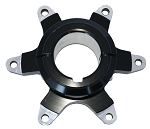 40mm Aluminum Brake Hub, 6 Bolt Metric Pattern
