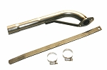 Straight Back Pipe Kit for Honda GX390 or 11-13 HP Clone