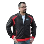 Kart Racewear Karting Jacket Black and Red