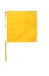 Yellow / Caution Racing Flag