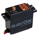 Larger Standard Digital Servo .18/222 @ 6.0V