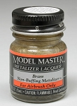 Testors Model Master Brass No Buff Metallic 1/2 oz