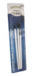 Testors 3 Brush Set Flat Pointed 1/4