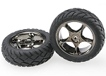 Traxxas Tires and Wheels Assembled Bandit Front (2)