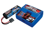Battery & Charger Completer Pack, Includes 2970 iD Charger and 2843X 5800mAh 7.4V 2-cell LiPo