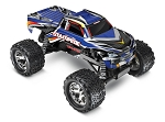 Stampede 1/10 Monster Truck Blue, RTR W/iD Battery & 4 Amp Peak DC Charger
