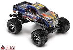 Stampede VXL 1/10 Scale Monster Truck Blue RTR, w/TSM, Battery and Charger