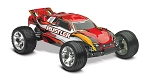Rustler 1/10 Stadium Truck Red, RTR W/iD Battery & 4 Amp Peak DC Charger