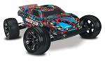 Rustler VXL 1/10 Stadium Truck RTR, Hawaiian Edition W/ TSM, iD Battery and Charger