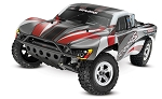 Slash 1/10 2WD Silver-Red, Xl-5 RTR w/2.4GHz Radio - No Battery or Charger