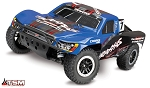 Slash 4WD 1/10 S.C Truck RTR, W/ TSM, and VLX Brushless Power - No Battery or Charger