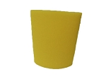Foam Pre - Filter 3-3/4'' x 5 -Yellow