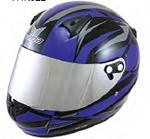 KJ2 Youth Vega Karting Helmet -Blue Drift