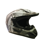 Off Road Youth Helmet (Army/Black Matte)