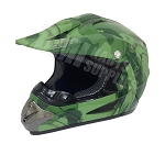 Off Road Youth Helmet (Army/Green)