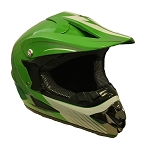 Off Road Youth Helmet (Green)