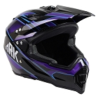 Adult Off Road Helmet (Blue)