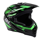 Adult Off Road Helmet (Green)
