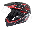 Adult Off Road Helmet (Red)