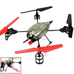 WLToys V989 Quadcopter UFO with Missile Launcher RTF 2.4G