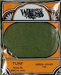 Woodland Scenics' Turf Fine Green Grass (18 cu in) #T45