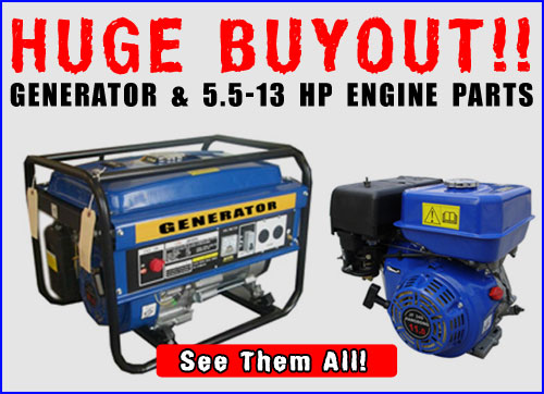 Generator Sale Items