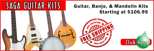 Saga Guitar Kits