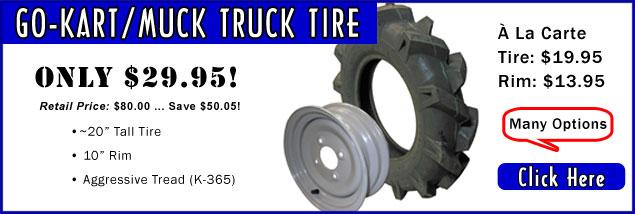 Muck Truck / Go Kart Tire