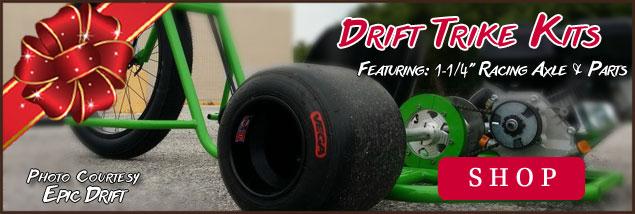 1-1/4 Drift Trike Kits