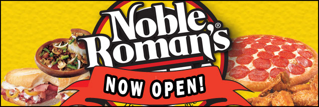 Noble Roman's Pizza at BMI Indoor Speedway