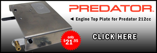 Engine Top Plate for Predator 212cc