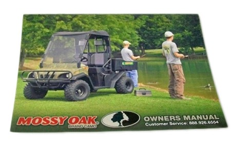 Mossy Oak Owners Manual