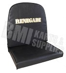 Single Vinyl Seat with Renegade Logo