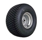 "20 x 10-8 Super Turf Tire with Rim (1"" Bore)"