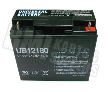 12 Volt - 18 Ah Battery