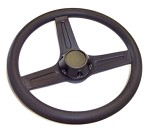 "13"" Steering Wheel with Cap"