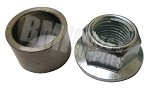 12M  Flange Nut with Spacer