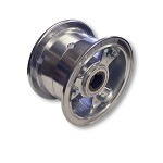 "5"" Aluminum Split Wheel, 1"" to 3/4"" Step Live Axle (Rear)"