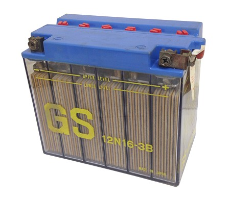 GS 12N16-3B Battery for Yamaha TX 750