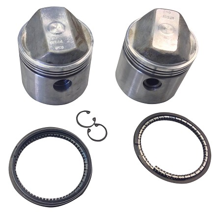 TRW Forged Piston Set with Rings for Harley-Davidson Sportster 1000cc