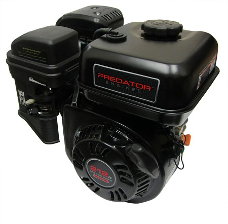 212cc  (6.5HP) Predator Engine from Harbor Freight