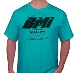 """If You Ain't First..."" 2014 BMI Speedway Shirt - Blue"