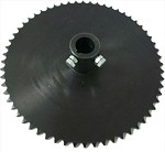 "#40 Sprocket 60T with 1"" Hub"