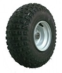 145/70-6 Balloon Tire with Rim (Front)