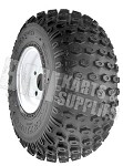 18 x 9.50-8 Knobby Tire with Rim (Kenda Scorpion) (4 on 4)