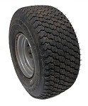 **Out of Stock** 15 x 6.00-6 SuperTurf Tire & Rim (Front) (Used)