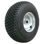 "15 x 6.00-6 Super Turf Tire & Rim (1"" Bore)"