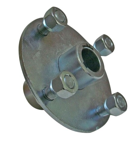 "Galvanize 4 x 4 Wheel Hub (1"" Bore)"