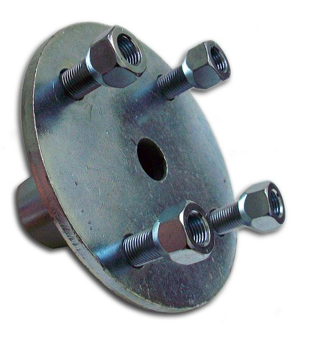 "4 x 4 Wheel Stepdown Hub (1"" step-down-to 3/4"" Bore)"